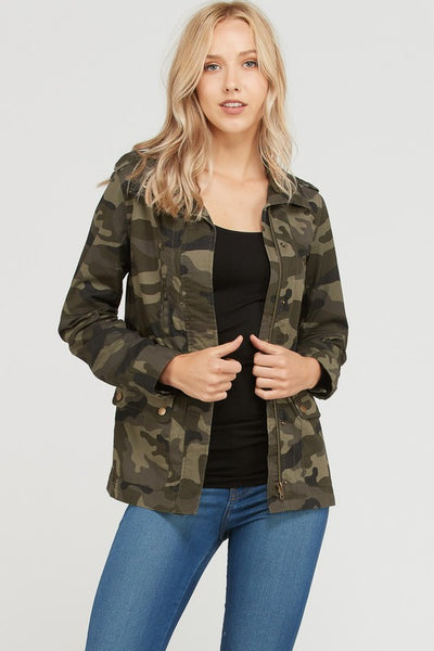 Fall For Camo Jacket