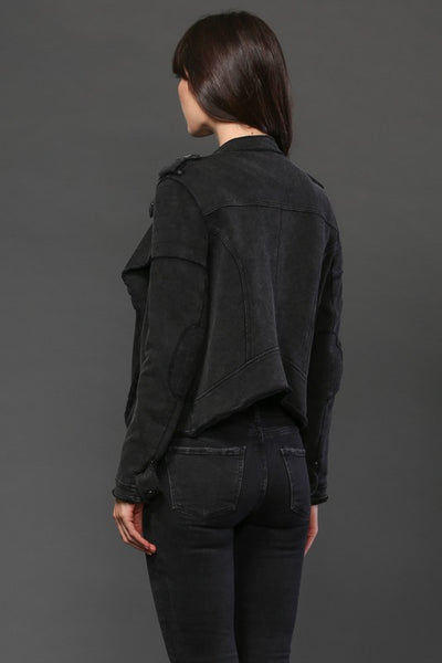 Hailey Moto Jacket - Black