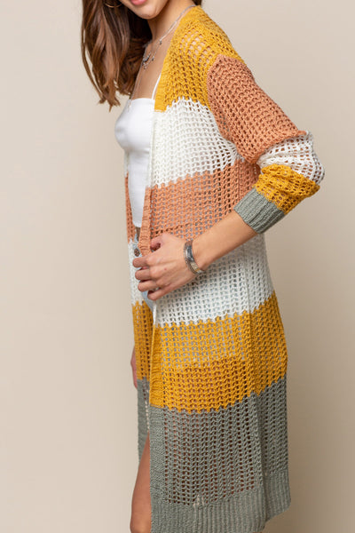 Smitten Knit Cardigan - Multi