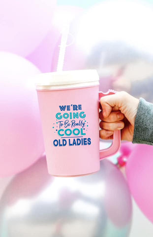 Cool Old Ladies Thermal Jug