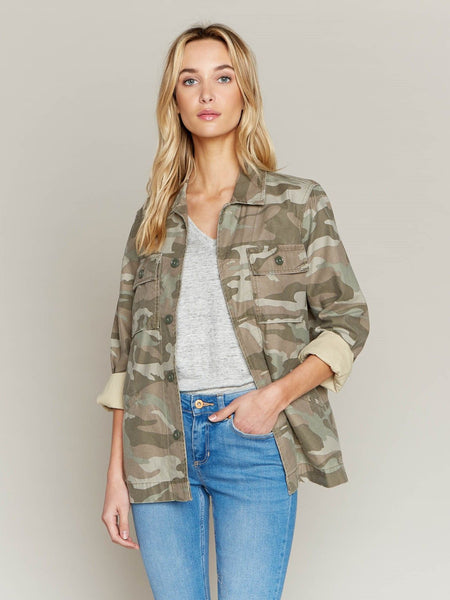 Mickie Jacket - Muted Camo