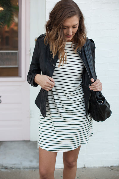 Day Out Raglan Sleeve Dress