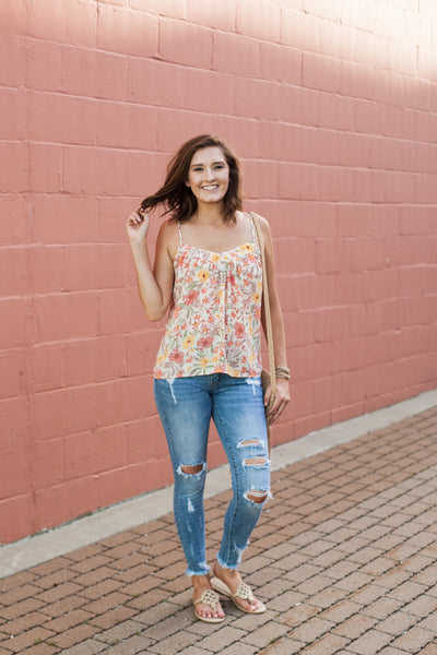 Dreaming of Havana Tank - Floral