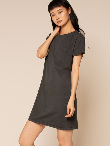 Kick Back Dress - Vintage Black