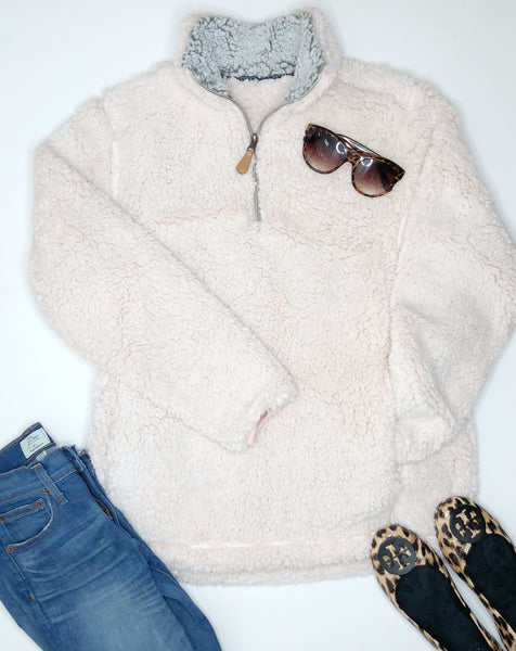 Cozy Up Sherpa - Blush