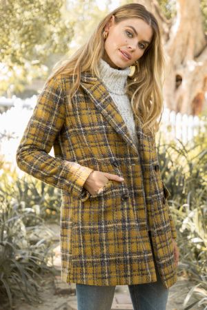 Cambridge Plaid Blazer Jacket