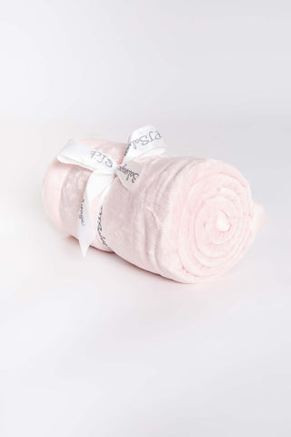 Plush Luxe Blanket - Blush