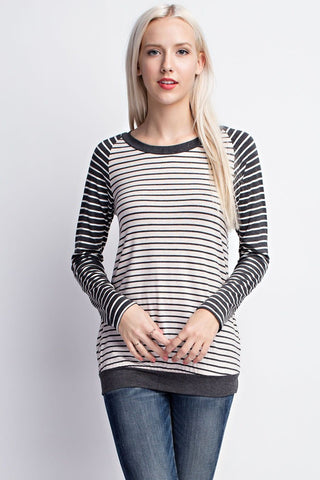 Weekender Striped Top