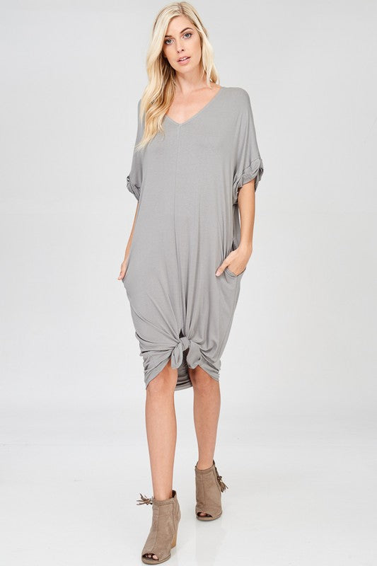Brittany Knit Dress - Sage