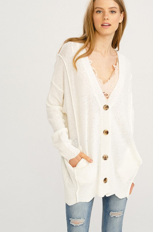 Wrap Me Up Cardigan - Ivory
