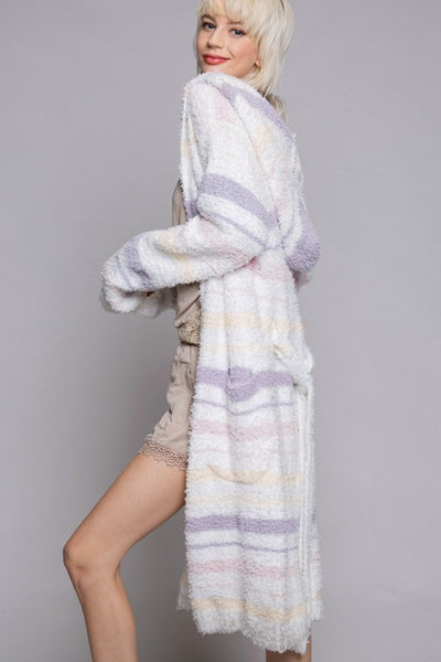 Sweet Tart Berber Robe - Stripe