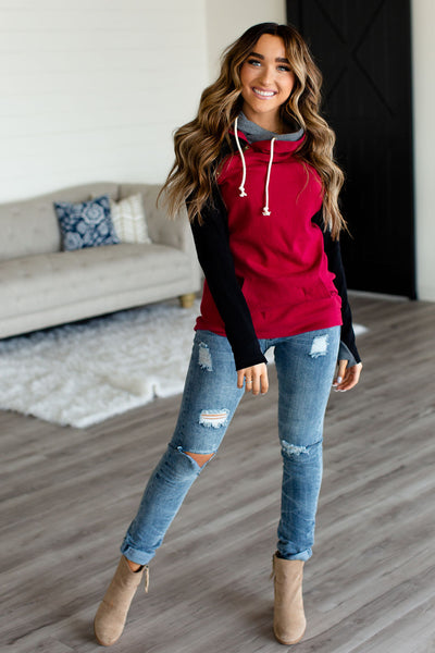 Cocoa & Cuddles Hoodie - Red