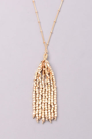 Chloe Cluster Necklace - Gold