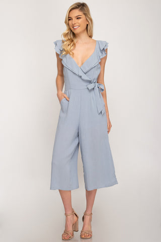 Emerson Jumpsuit - Misty Blue