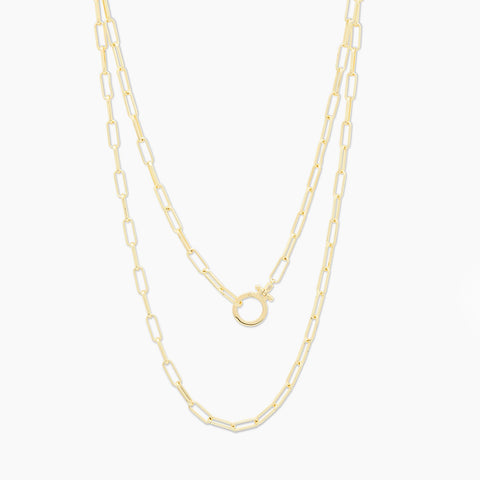 Parker Wrap Necklace - Gold