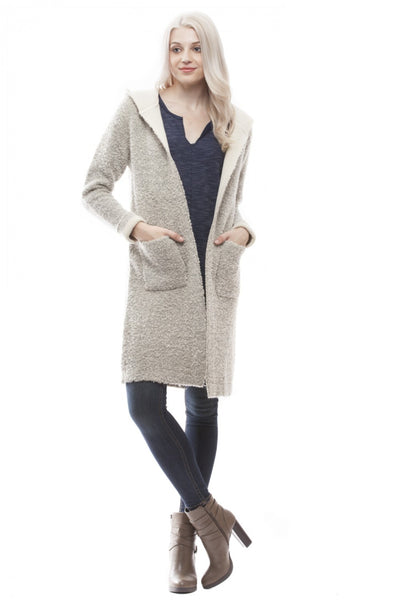 All Day Cardigan - Oatmeal