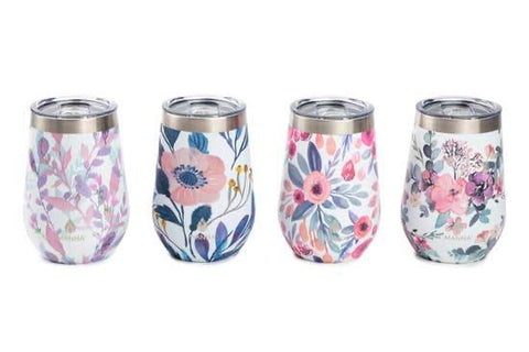 Gimmie Wine Tumbler - Floral