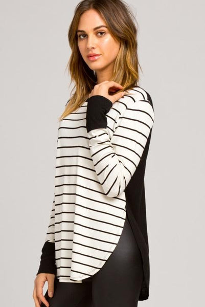 Striped Out Long Sleeve