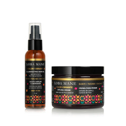 styling cream hair oil loba mane