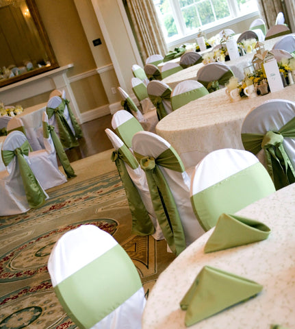 Linen - Banquet Chair Covers - Main Street Weddings & Events