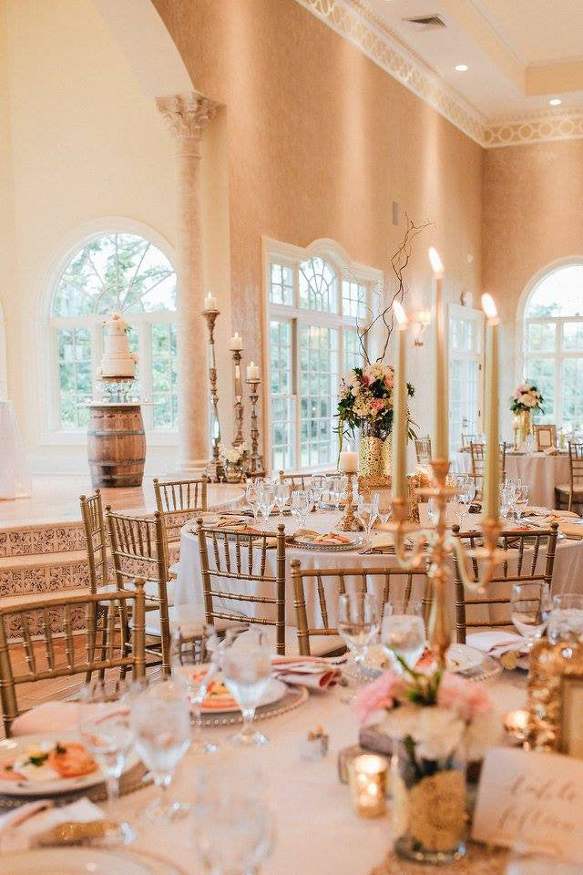 Decor - Gold Candelabra - Main Street Weddings & Events