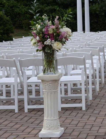 Decor - Ivory Column - Main Street Weddings & Events