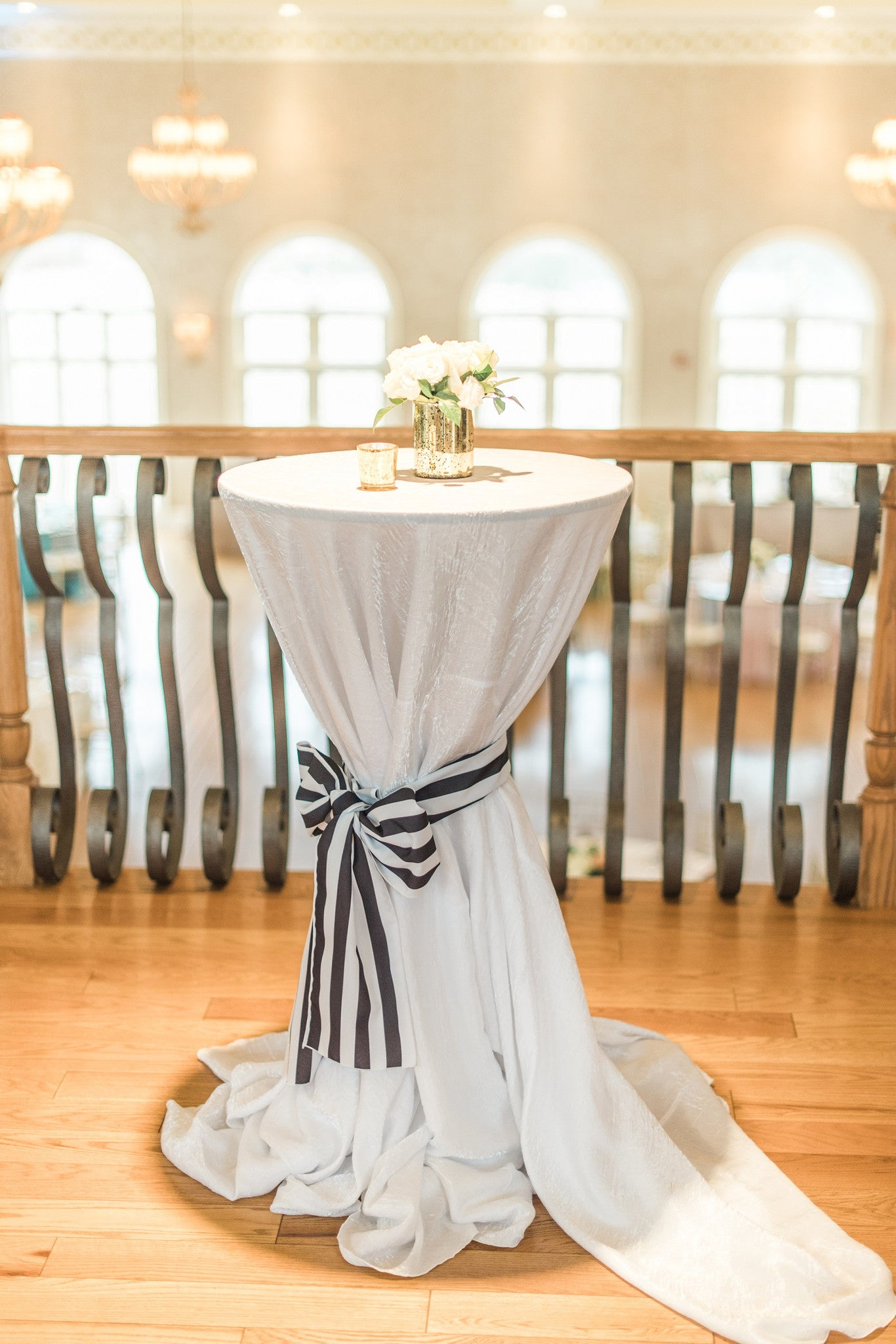 Linen - White Crush - Main Street Weddings & Events