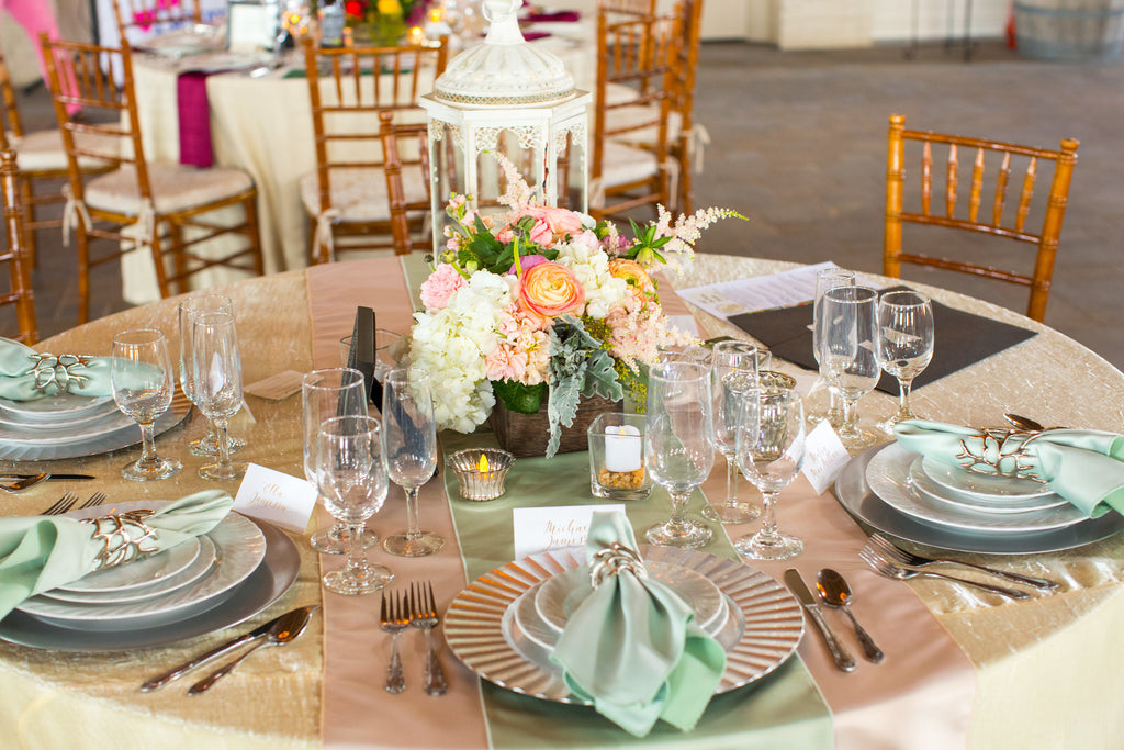 Linen - Pale Yellow Crush - Main Street Weddings & Events
