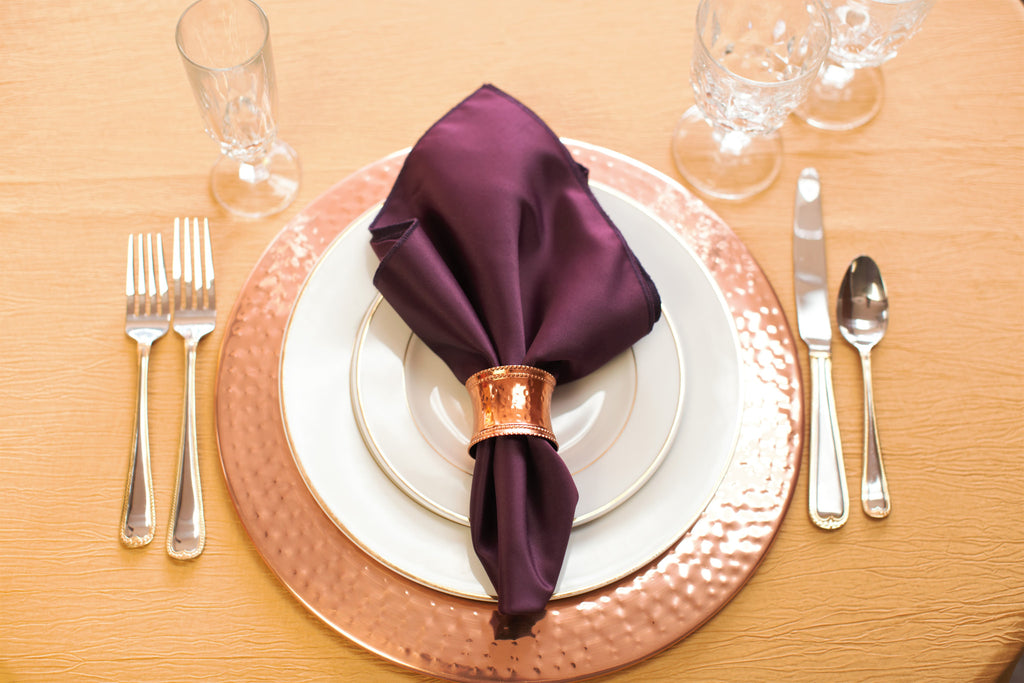 Linen - Gold Accordion Taffeta - Main Street Weddings & Events