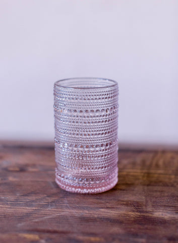 Blush Juniper Glass