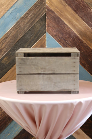 Tabletop - Wooden Crate Stand - Main Street Weddings & Events