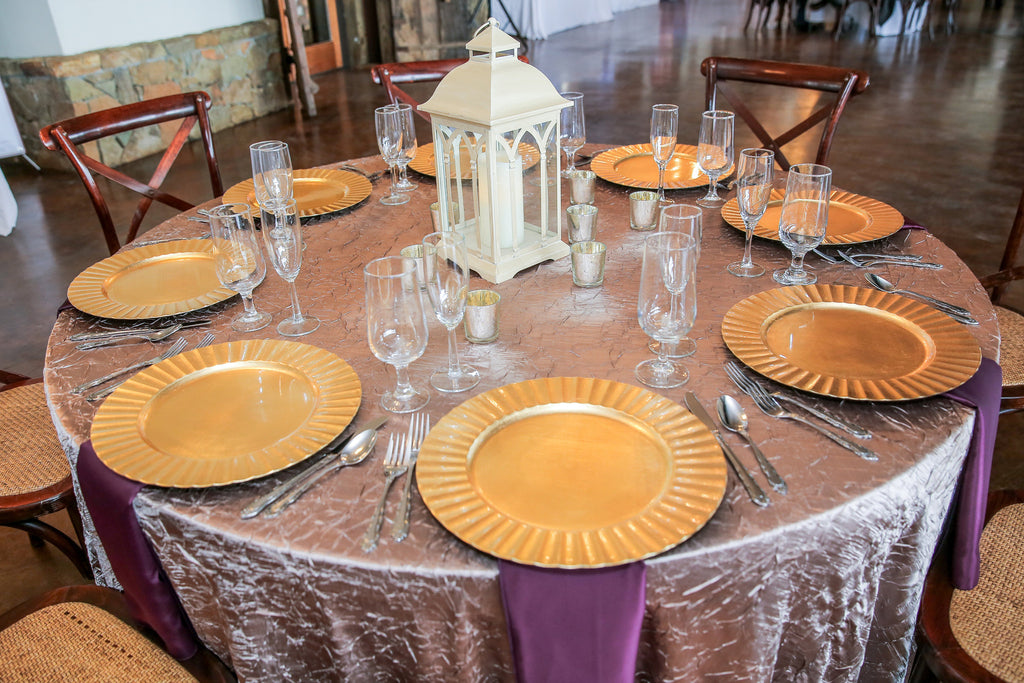 Linen - Taupe Crush - Main Street Weddings & Events