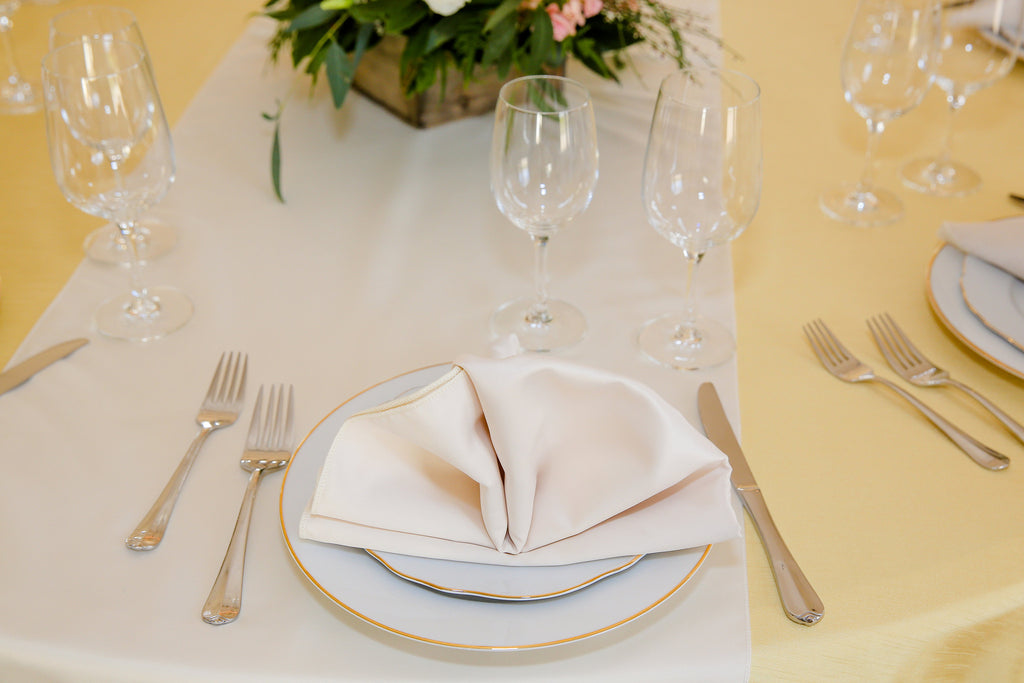 Linen - Banana Shantung - Main Street Weddings & Events