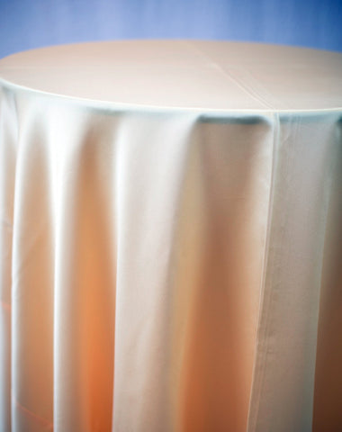 Linen - Banana Matte Satin - Main Street Weddings & Events