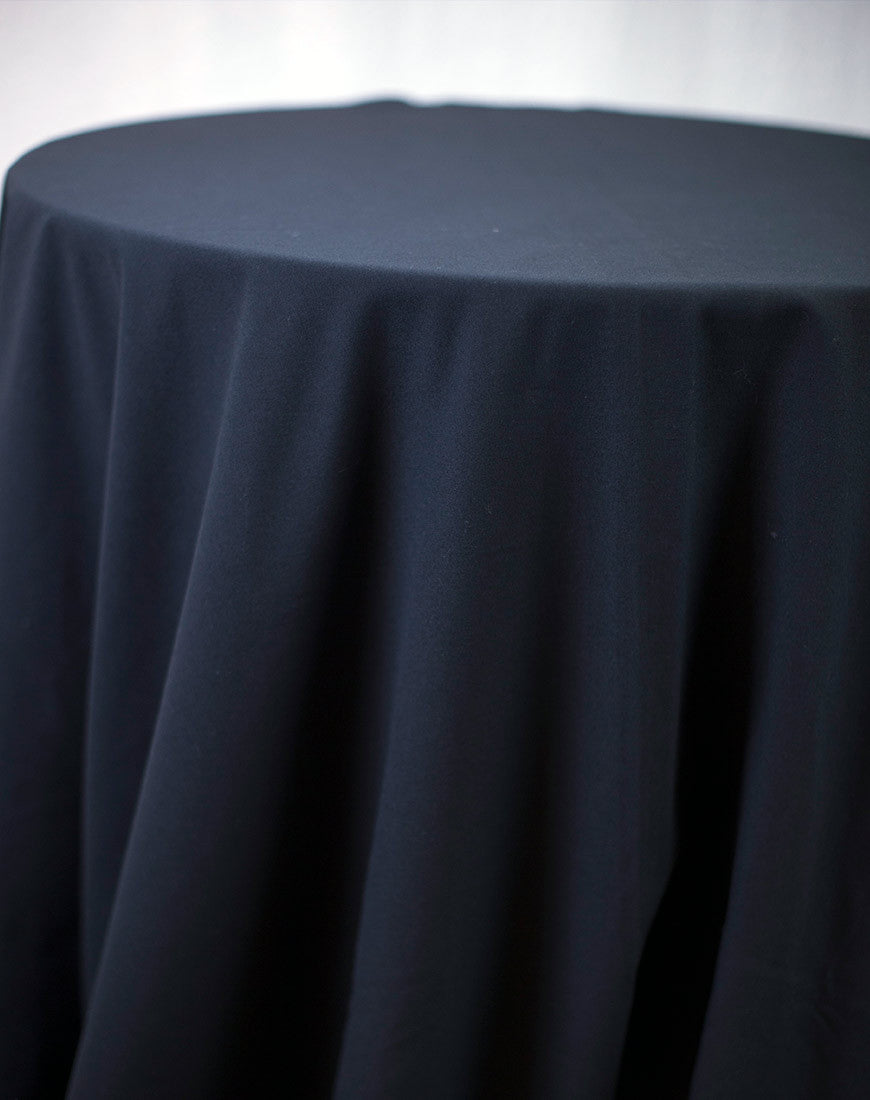 Linen - Black Spun - Main Street Weddings & Events