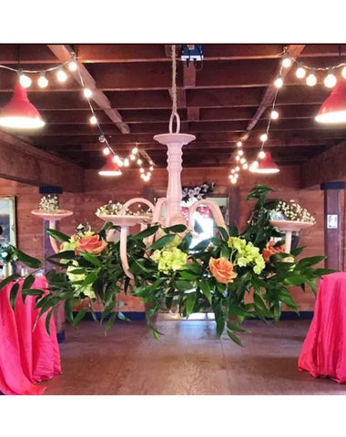 Decor - Chandelier - Main Street Weddings & Events