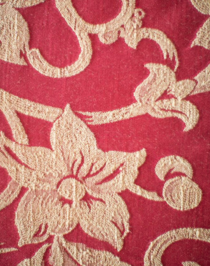 Linen - Bordeaux Damask - Main Street Weddings & Events