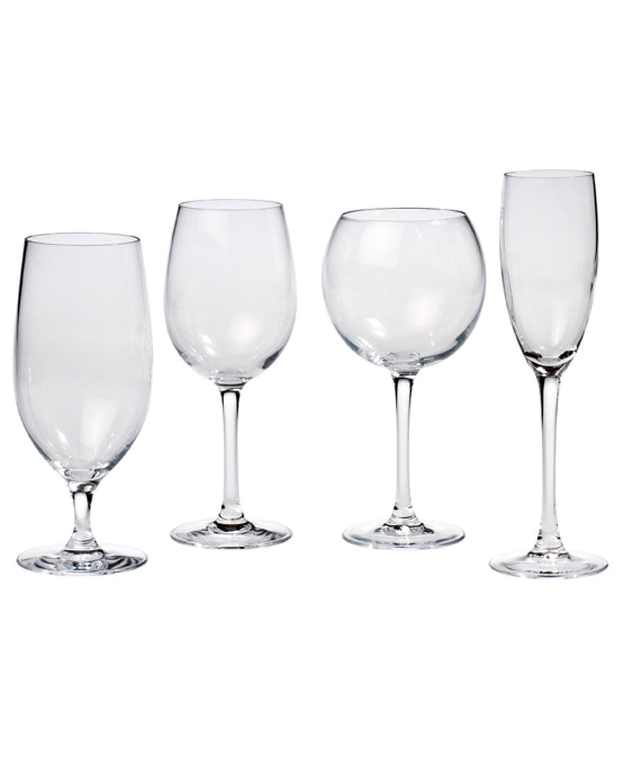 Tabletop - Cardinal Glassware - Main Street Weddings & Events