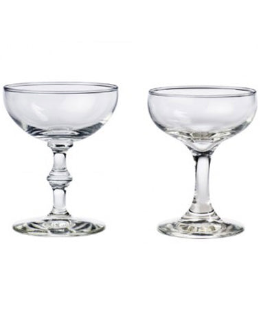 Tabletop - Flat Champagne Coupe - Main Street Weddings & Events