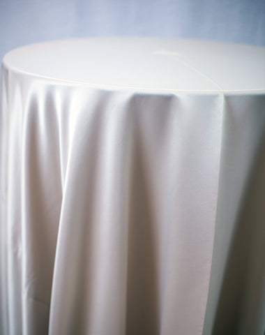 Linen - Champagne Matte Satin - Main Street Weddings & Events