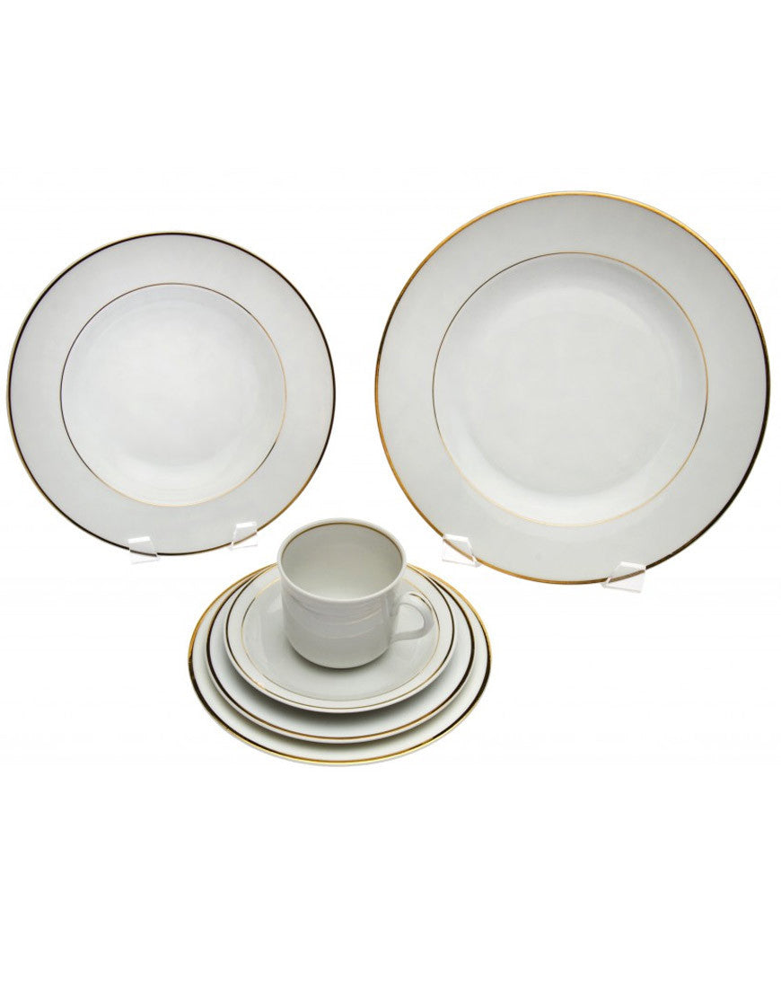 Tabletop - Roma Gold China - Main Street Weddings & Events