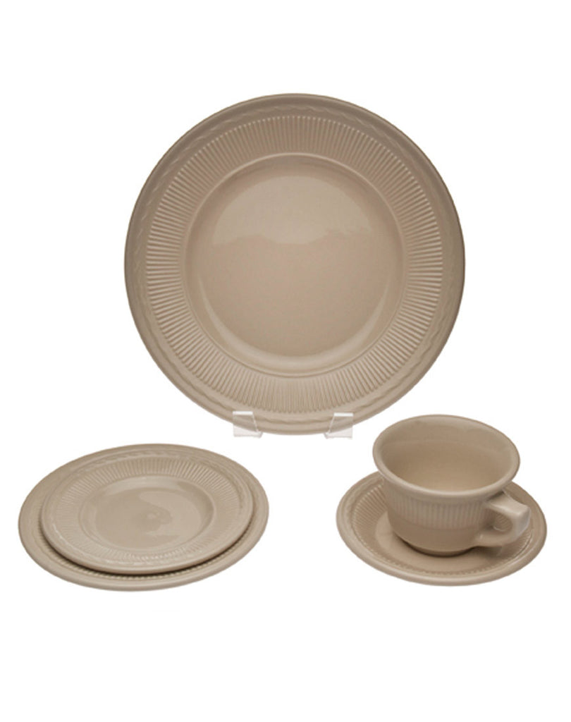Tabletop - Stoneware China - Main Street Weddings & Events
