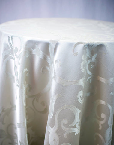 Linen - Chopin Damask - Main Street Weddings & Events