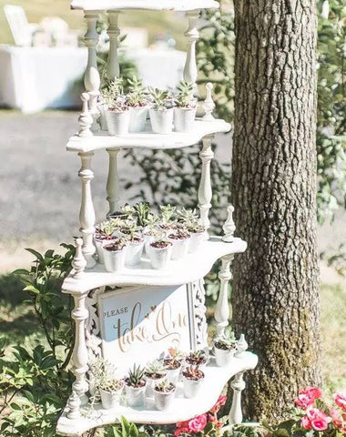 Decor - Vintage Corner Shelf - Main Street Weddings & Events