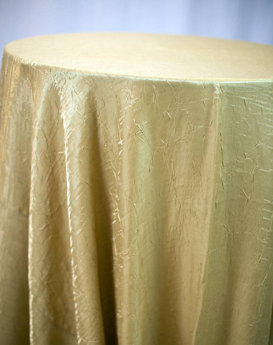 Linen - Dark Gold Crush - Main Street Weddings & Events