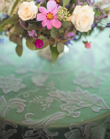 Linen - Delaware Damask - Main Street Weddings & Events