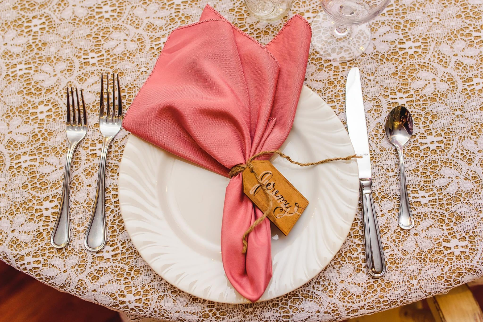 Linen - Dusty Rose Basic - Main Street Weddings & Events