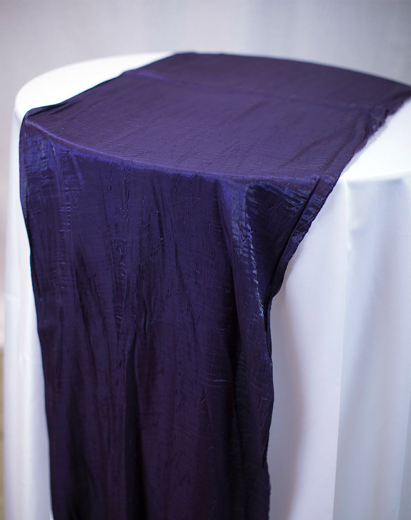Linen - Eggplant Crush - Main Street Weddings & Events