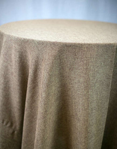 Linen - Fancy Burlap Textured Weave - Main Street Weddings & Events