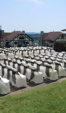 Linen - Folding Chair Covers - Main Street Weddings & Events